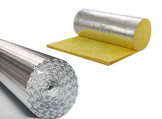 Ceiling Roof Insulation Glass Wool Aluminium Bubble Alububble Harare Zimbabwe