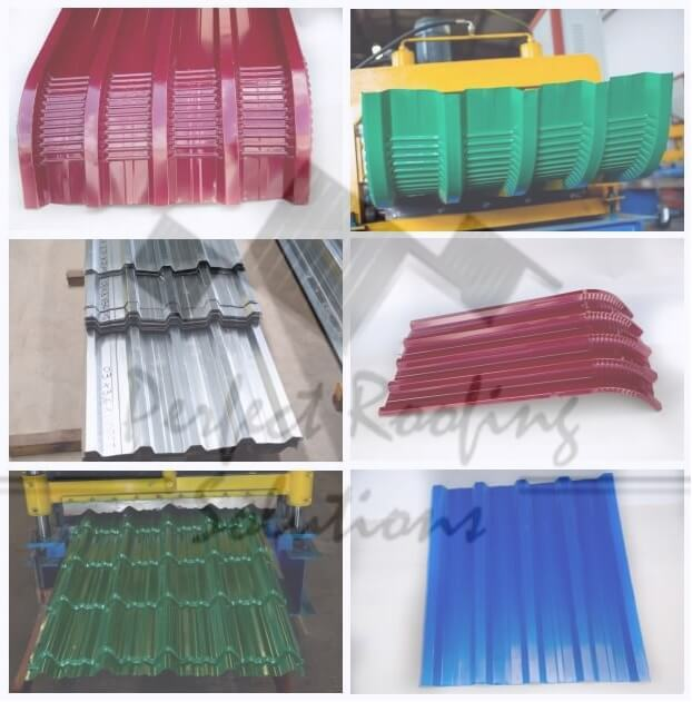Customized Galvanized Roofing Q-Tile Chromadek Roofing Sheets Msasa Harare Bulawayo Zimbabwe Perfect Roofing Solutions